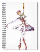 Robot Diva Spiral Notebook