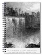 Rochester: Genesee Falls Spiral Notebook