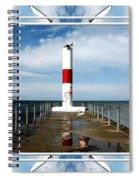 Rochester New York Harbor Lighthouse Spiral Notebook