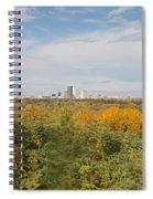 Rochester Skyline Panorama Spiral Notebook