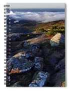 Rock And Fog Spiral Notebook