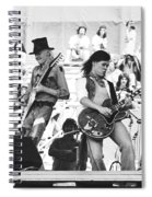 Rock And Roll At Day On The Green 1975 Spiral Notebook