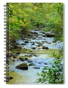 Rock Creek Bed Spiral Notebook