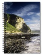 Rock Formations At The Coast Spiral Notebook