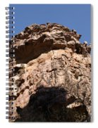 Rock Formations Bhimbhetka Spiral Notebook