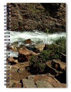 Rock Rush Glen Alpine Creek Spiral Notebook