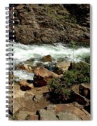 Rock Steps To Glen Alpine Creek Spiral Notebook