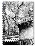 Rockefeller Garden Fence Spiral Notebook