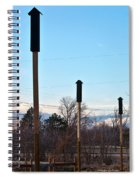 Rockets Arrows Or Bat Houses Spiral Notebook