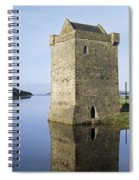 Rockfleet Castle On Clew Bay, County Spiral Notebook