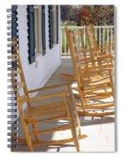 Rocking Around The Clock Spiral Notebook