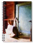 Rocking Horse In Attic Spiral Notebook