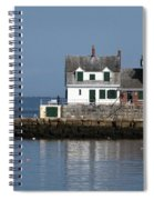 Rockland Breakwater Lighthouse Spiral Notebook