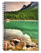Rocks And Reflections Spiral Notebook