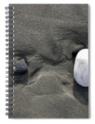 Rocks And Sand  Spiral Notebook