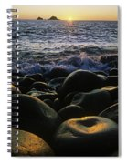 Rocks At The Coast, Giants Causeway Spiral Notebook