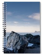 Rocks Of Dry Lagoon Spiral Notebook