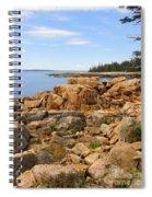 Rocky Coast Of Maine Spiral Notebook