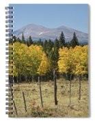 Rocky Mountain High Country Autumn Fall Foliage Scenic View Spiral Notebook