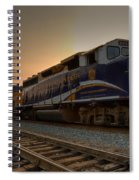 Rocky Mountaineer Halo Spiral Notebook