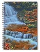 Rocky Pool Falls Spiral Notebook