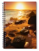 Rocky Shoreline In Hawaii Spiral Notebook