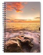 Rocky Surf Spiral Notebook