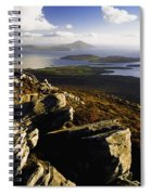 Rocky Vista Of Shoreline Spiral Notebook