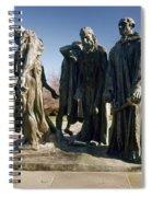 Rodin: Burghers Of Calais Spiral Notebook