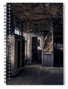 Roe - Graves House Kitchen Of Bannack Ghost Town - Montana Spiral Notebook