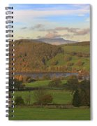 Roe House Overlooks Ullswater Near Pooley Bridge In The Lake District Spiral Notebook