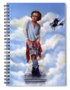 Roll Over Beethoven Spiral Notebook