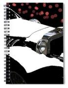 Rollin Rollin Rolls Royce Spiral Notebook