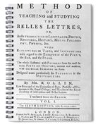 Rollin: Title Page, 1769 Spiral Notebook