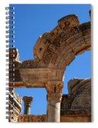 Roman Arch Ephesus Turkey Spiral Notebook