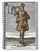 Roman Trumpet, 1723 Spiral Notebook