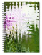 Romance In Paris - Abstract Art Spiral Notebook