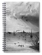 Romania: Mouth Of Danube Spiral Notebook