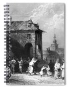 Romania: Wedding Spiral Notebook