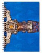 Romano Spaceship - Archifou 73 Spiral Notebook