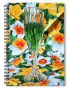 Romantic Emerald Spiral Notebook