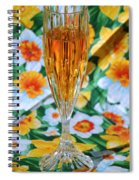 Romantic Glow Spiral Notebook