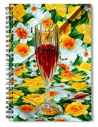Romantic Ruby Spiral Notebook