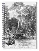 Rome: Borghese Gardens Spiral Notebook