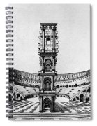 Rome: Colosseum, 1685 Spiral Notebook