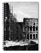 Rome: Colosseum, C1864 Spiral Notebook