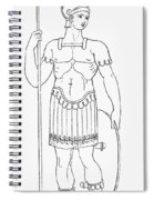 Rome: Foot Soldier Spiral Notebook