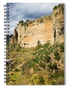 Ronda Rock In Andalusia Spiral Notebook