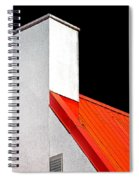 Roof And Chimney Spiral Notebook