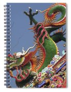 Roof Dragon Spiral Notebook